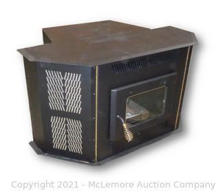 Amaizablaze Corn Stove - Model 4100 - Up to 50,000 BTUs - Fireplace Insert or Freestanding