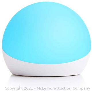 Echo Glow - Multicolor smart lamp for kids. a Certified for Humans Device – Requires compatible Alexa device