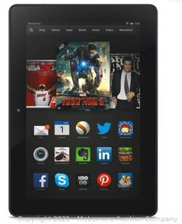 Amazon Kindle Fire HDX 7'' Inch 3rd Generation Wi-Fi Tablet 16GB