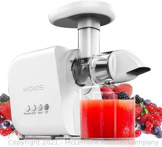 KOIOS Juicer. Masticating Juicer Machine