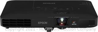Epson PowerLite 1781W WXGA. 3.200 lumens color brightness (color light output). 3.200 lumens white brightness wireless 3LCD Portable Projector . Black