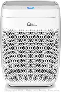 Air Purifier. Zigma Air Purifier for Large Room up to 1580 ft�. 5-in-1 H13 True HEPA Filter Air Purifiers for Home. Dust. Pollen. Pets Hair. Odor. Smoke. Large Air Purifier for House. Aerio-300