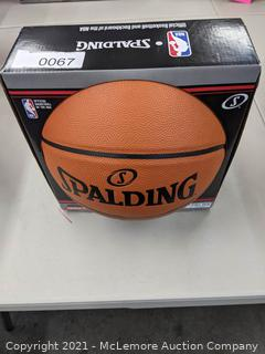 """Spaulding Silver Series NBA Basketball - official NBA size 29.5"""" - New"""