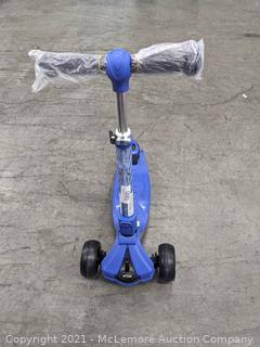 Jetson Saturn 3 Wheel Light-up Folding Scooter Blue - NEW - no package - Great Christmas Gift! - LED lights - adjustable height - $49 - SEE LINK