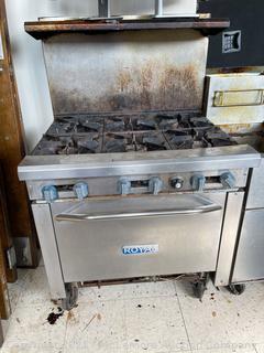Royal 6-Burner Range with Oven