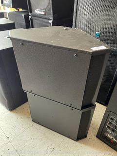 (2) Electro-Voice Corner Subwoofers