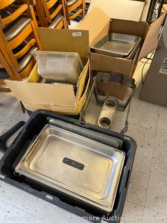 Assorted Restaurant Pans and Chafers