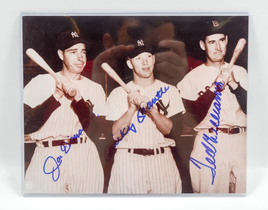 c2f29fd8cfc McLemore Auction Company - Auction  Sports Memorabilia from an Estate in  Lynnville