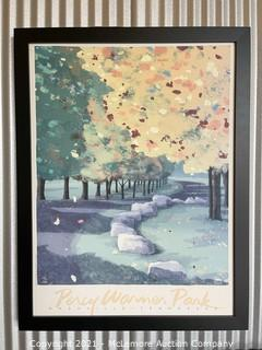 Framed Print of Percy Warner Park