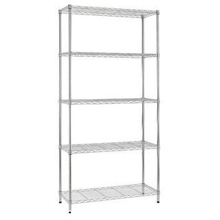 5 Tier Wire Shleving Rack