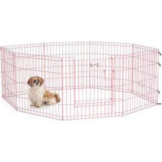Pink Playpen For Dogs