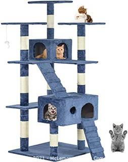 Cat Tree Scratcher Play House