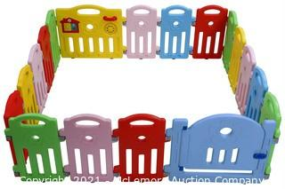 Baby PlayPen, Multi Color