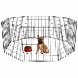 "Dog PlayPen, Black, 30"" Pannels"