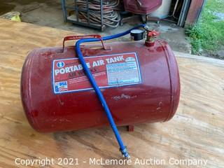 Portable Compressed Air Tank