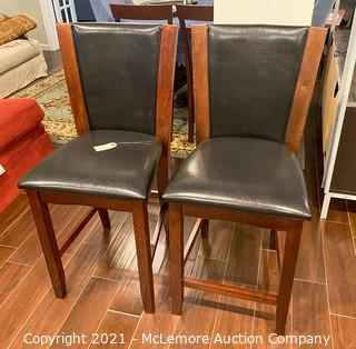 (x2) Bar Chairs