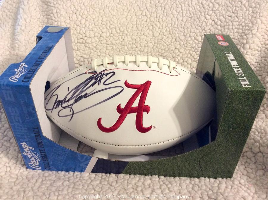 san francisco 8565f 78819 McLemore Auction Company - Auction: Signed Sports ...