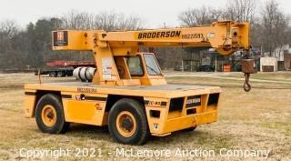 BRODERSON IC 80 Carry Deck Crane
