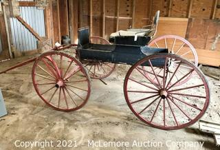 Horse Drawn Single Seat Buggy for Single Tree Pull