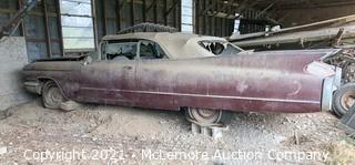 1960 Cadillac Convertible Barn Find