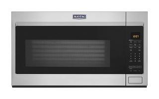 Maytag 1.9-cu ft Over-the-Range Microwave with Sensor Cooking (Fingerprint Resistant Stainless Steel)