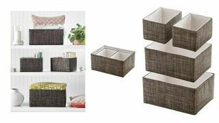 Mesa 4pc Storage Basket Set - NEW (no retail packaging)