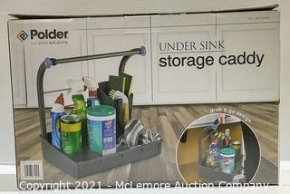Polder Under Sink Storage Caddy - New Open Box