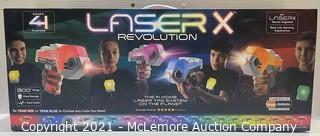 Laser X 4-Player Blaster Set - NEW - MSRP: $49