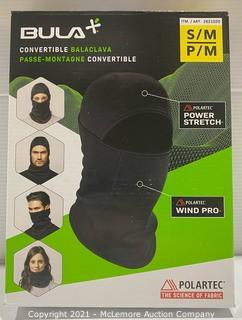 Convertible Face Shield - Mask / Scarf/ Bula Small/Medium Polartec Convertible Balaclava - NEW (open box) (open box)