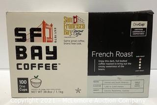 100-Count Keurig K-Cup San Francisco Bay Coffee French Roast OneCup - SEE DESCRIPTION