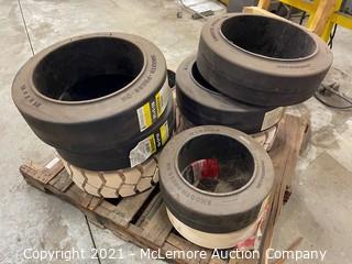 Pallet of Forklift Tires