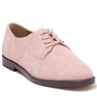 Lauren by Ralph Lauren Women's Maryna Ii Oxford, Pink, Size 9.5 B