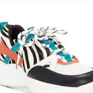 Inc Gemella Animal-Print Sneakers Zebra Multi, 10