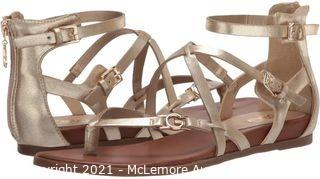 G by Guess Sandal For Women,Gold - Carolyn, 7.5