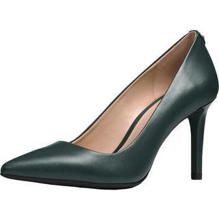 DOROTHY WOMENS POINTED TOE DRESS PUMPS, Green,5.5