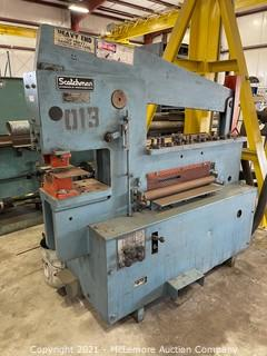 Scotchman 7012 Hydraulic Iron Worker