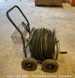 Garden Hose on Cart