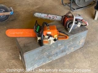 (x2) Chainsaws & Supplies