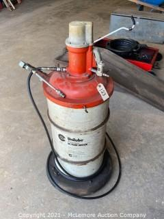 High Temp Grease Dispenser on Casters