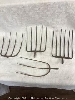4 Pitch Fork Tines