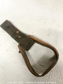 Antique Wooden Stirrup