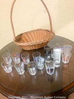 14 Shot Glasses