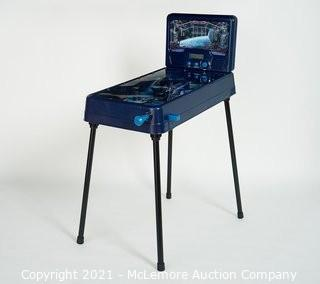 SPACE - STANDING OR TABLETOP ELECTRONIC  PINBALL GAME WITH LIGHTS - RETAIL 91.50