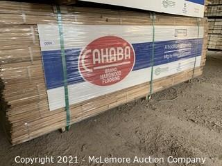 "Approx 735 sqft 1-1/2"" White Oak Flooring"