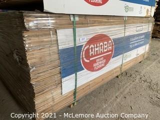 "Approx 735 sqft 1-1/2"" Red Oak Flooring"