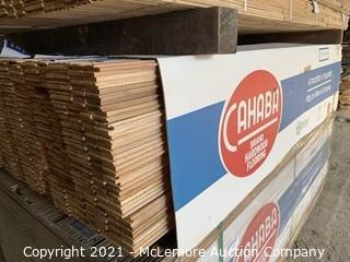 "Approx 400 sqft 1-1/2"" Red Oak Flooring"