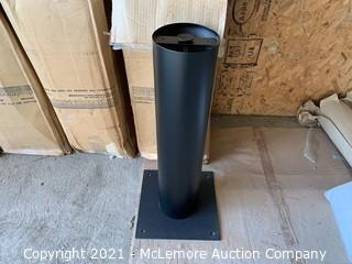 """Lot of 4 Table Bases 12""""x12""""x30"""""""