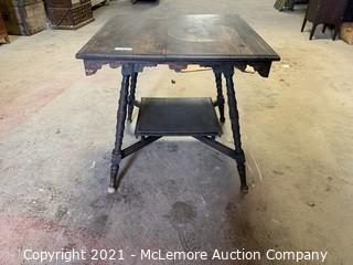 "30""x30"" Antique Table"