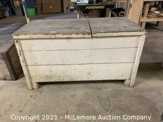 """Meal and flower Chest, Large 58""""x27""""x32"""""""