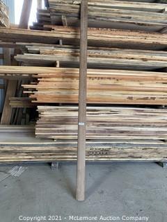 "8 Linear Feet of Western Cedar Bar Mold. 3 3/4"""
